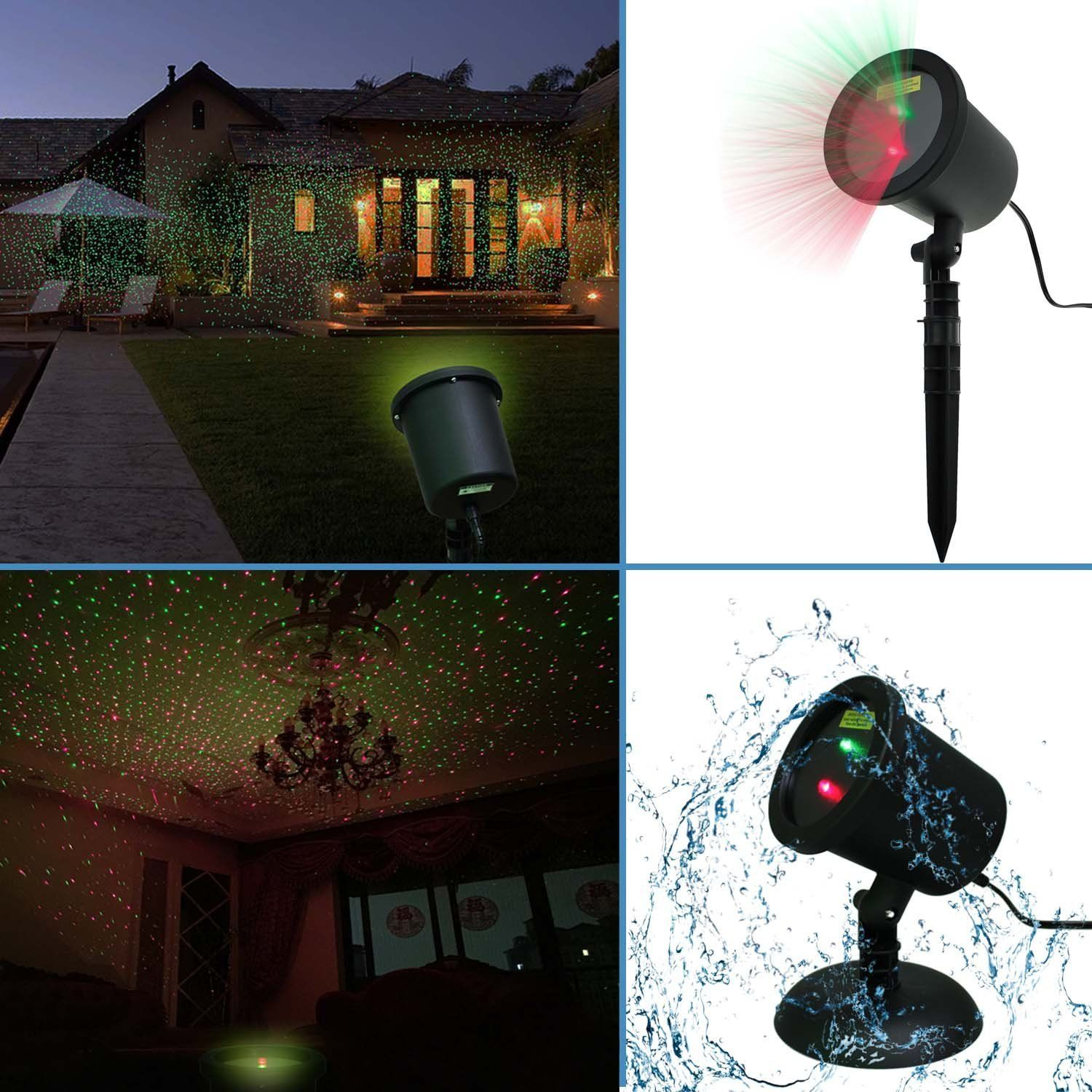Best Amazon Com Waterproof Red Green Laser Light Sparkling This Month