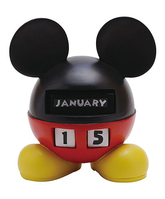 Best Mickey Mouse Perpetual Calendar Office Decor Pinterest This Month