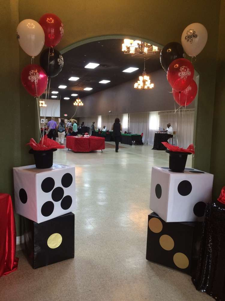 Best Casino Themed Birthday Party Ideas Photo 1 Of 11 This Month