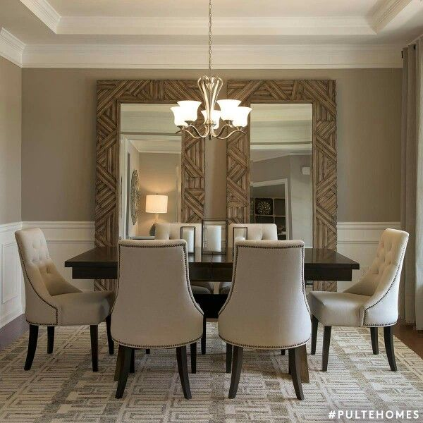 Best Large Mirrors In Dining Room Nice Idea For A Room That This Month