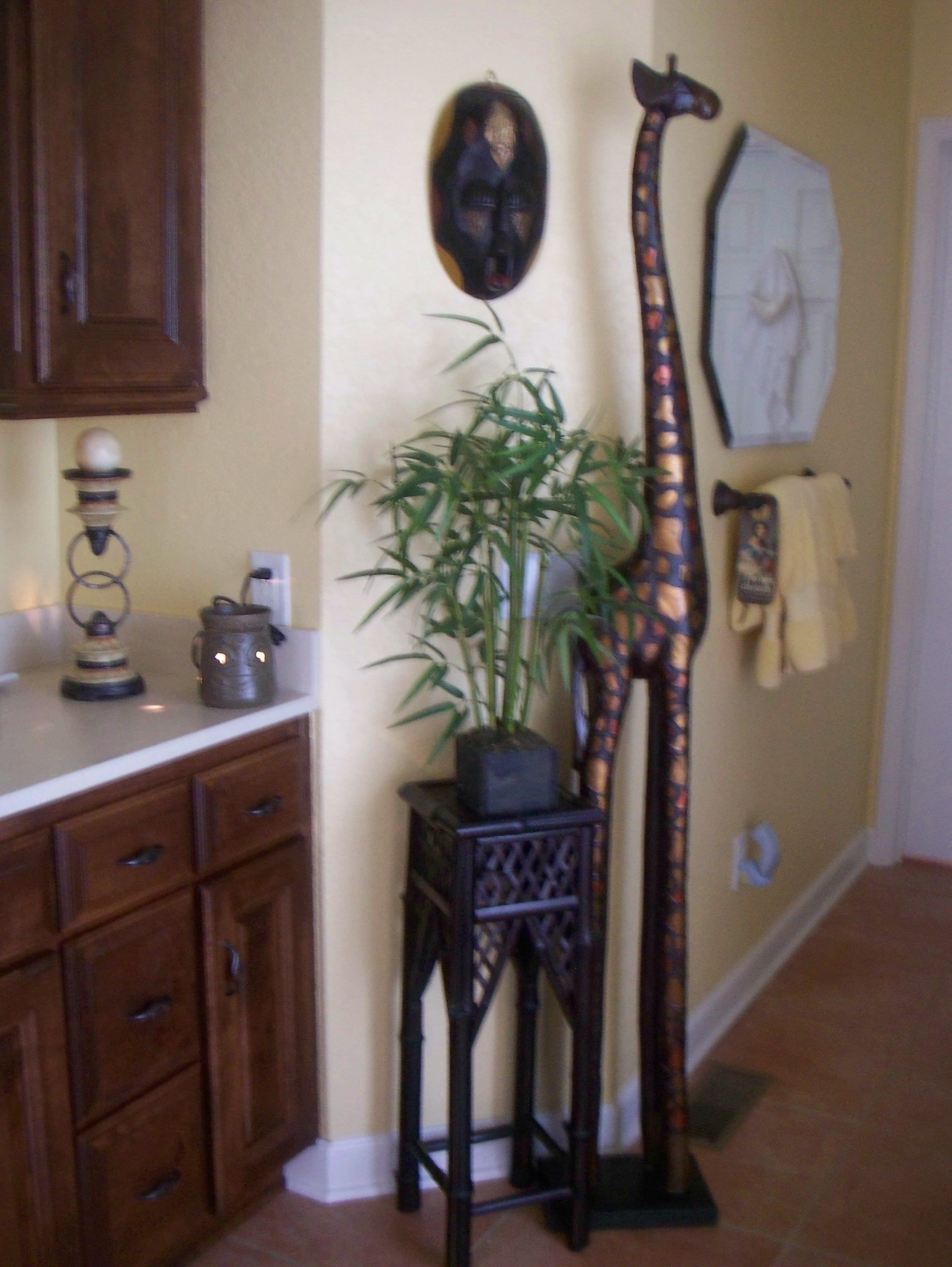 Best African Theme In Master Bath But Most Likely Living This Month