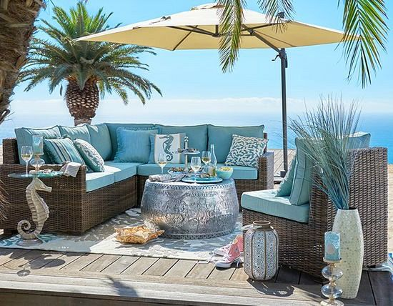 Best Outdoor Beach Paradise In 2019 Beach House Decor This Month
