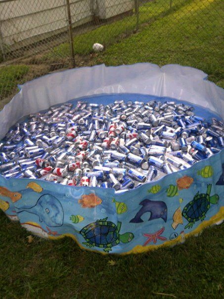 Best Baby Pool Full Of Beer Heaven Livin Large And In Charge This Month