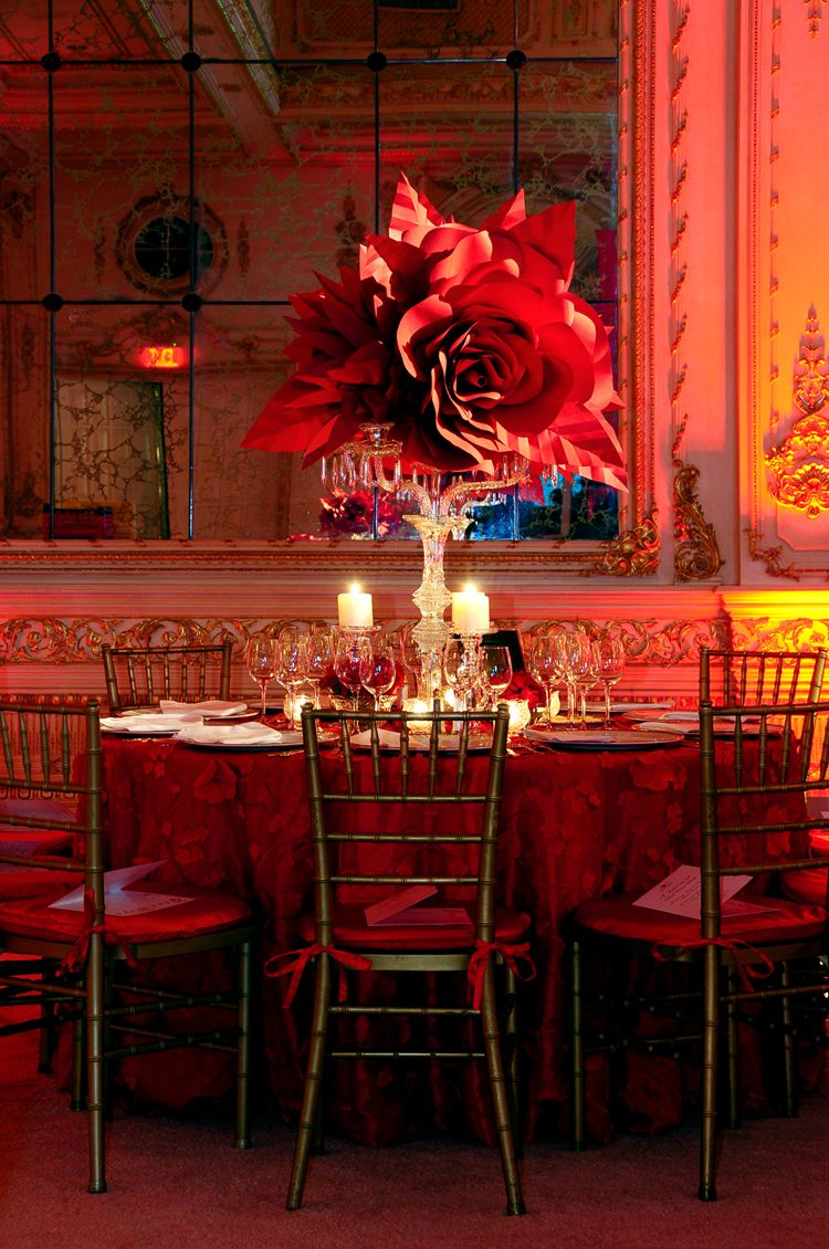 Best Red Cross Ball Palm Beach Rafanelli Events Floral Paper This Month