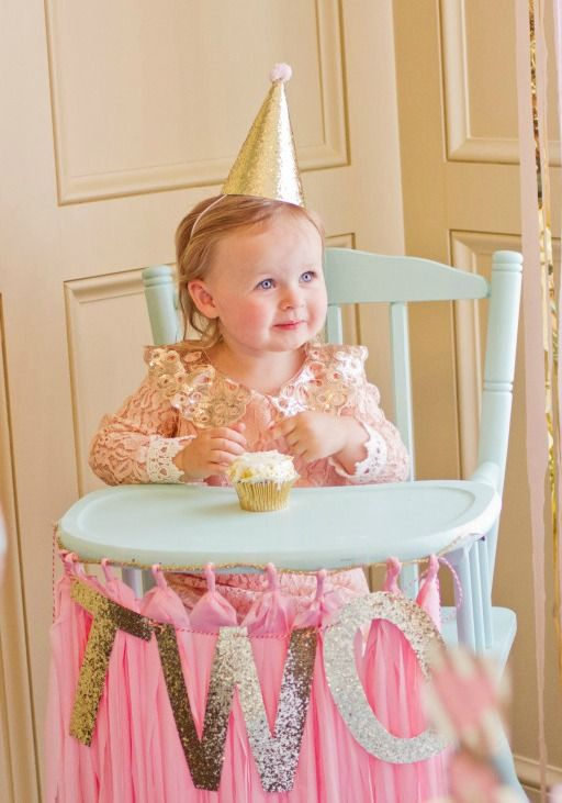 Best Bridget S Pink And Gold 2Nd Birthday Party Toddler This Month