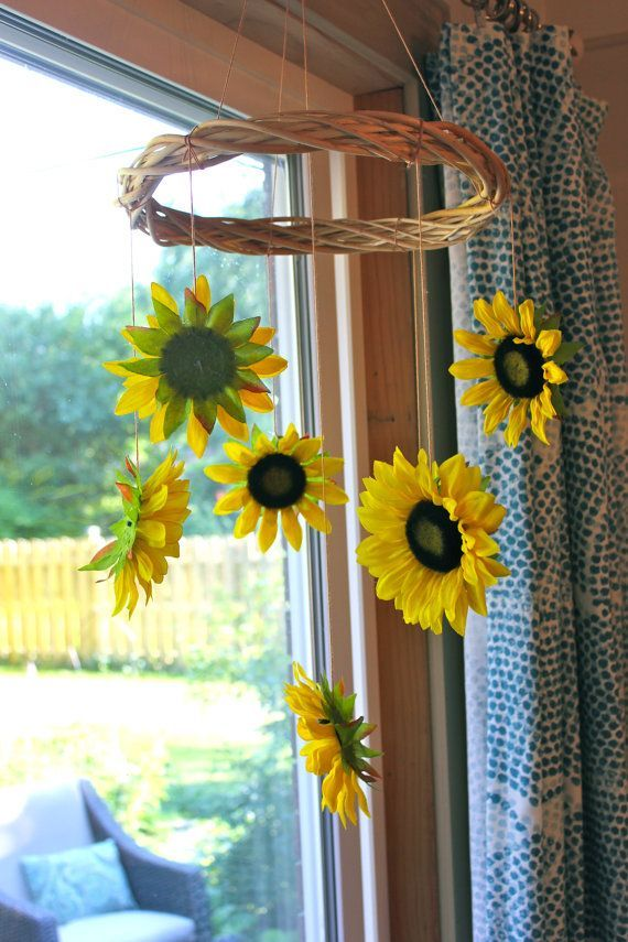 Best Sunflower Mobile Future Baby Ideas Sunflower Room This Month
