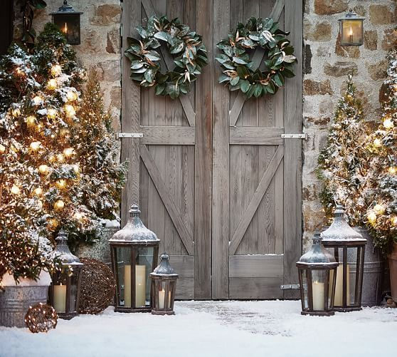 Best Faux Lit Twig Orbs Home For The Holidays Outdoor This Month