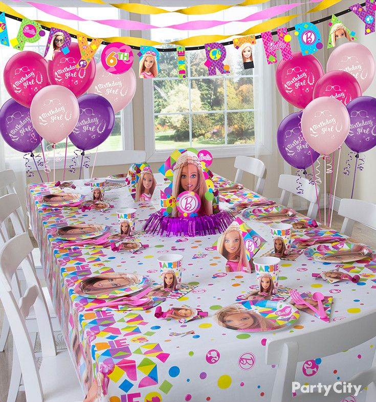 Best Her And Her Besties Will Love These Barbie Birthday Party This Month