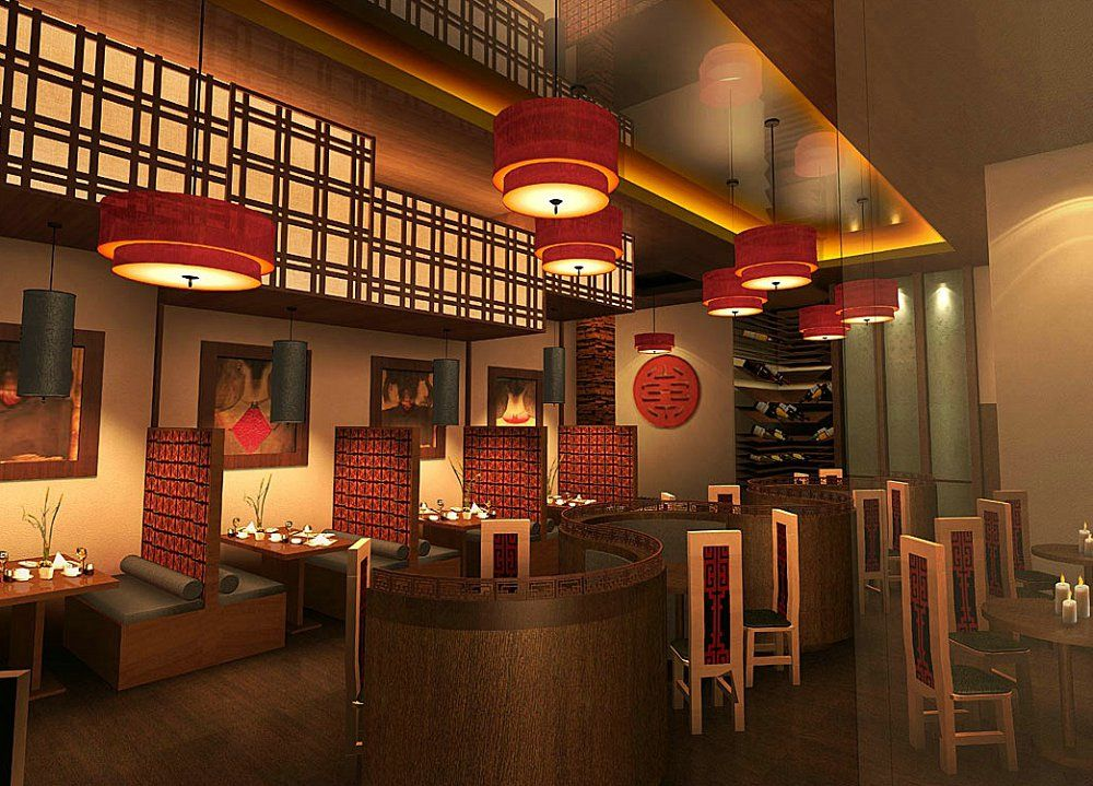 Best Architecture Chinese Restaurant In Interior Room Designs This Month