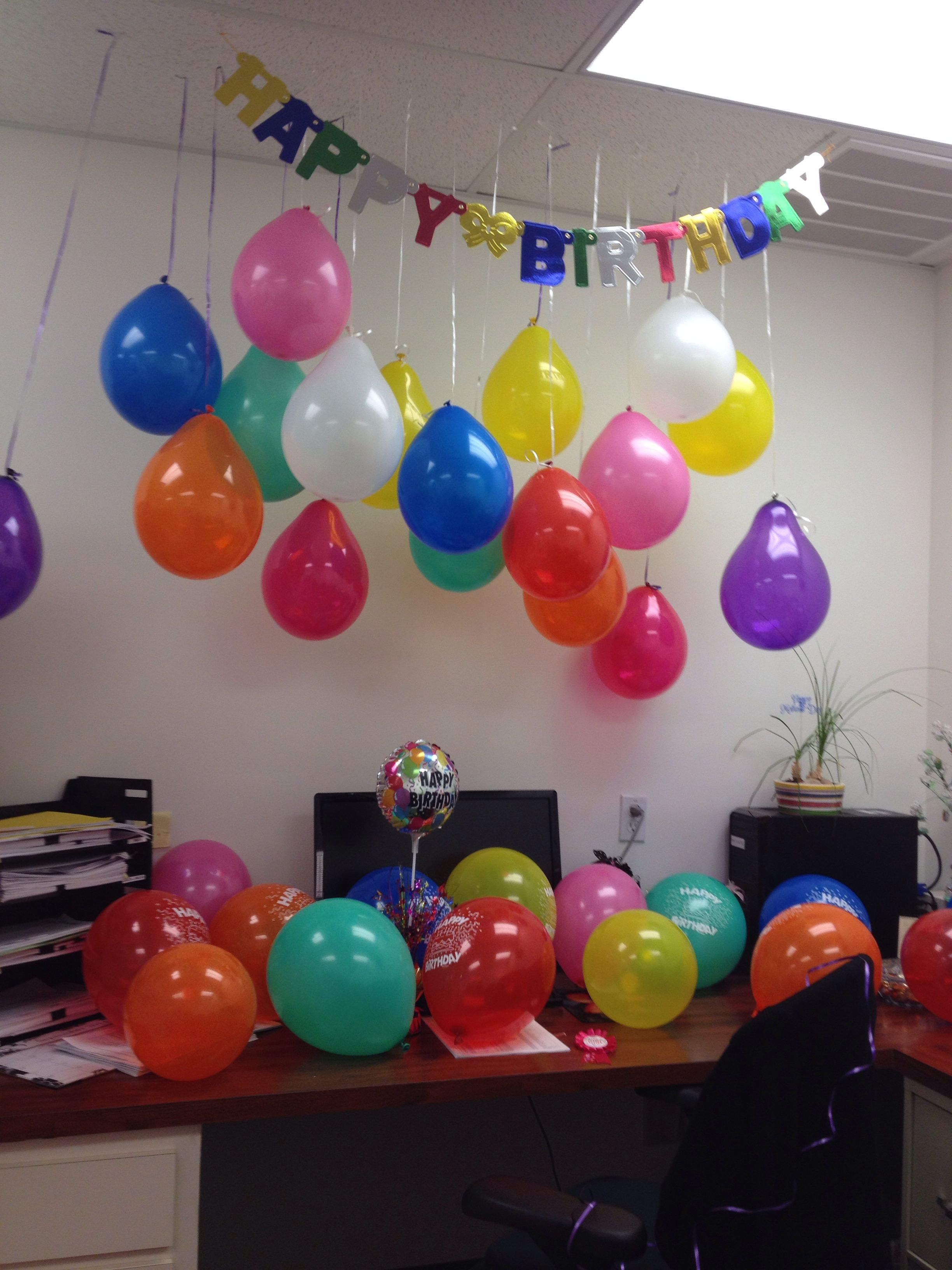 Best Birthday Decoration For An Office Creativity Art This Month