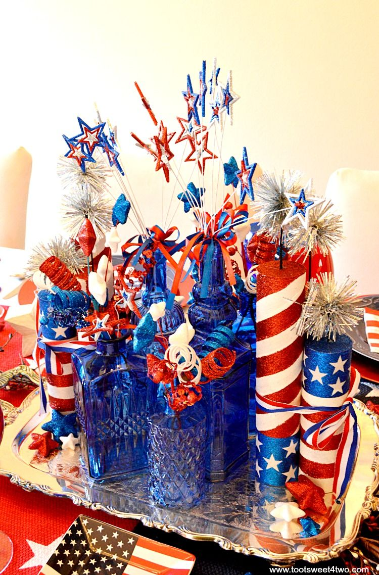 Best Decorating The Table For 4Th Of July Diy Party Ideas This Month