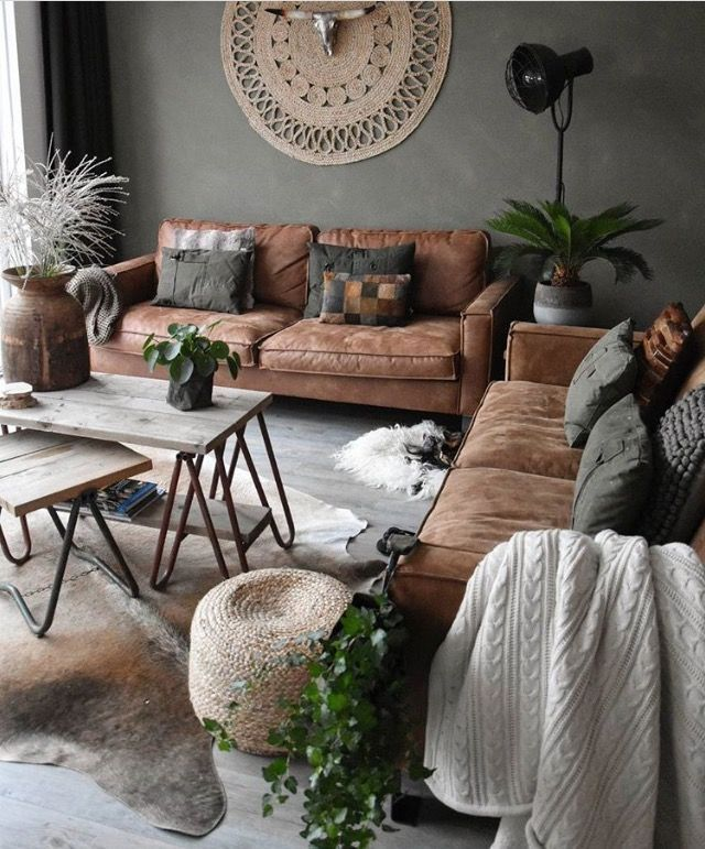 Best Earthy Colors That Make This Living Room Super Cozy This Month