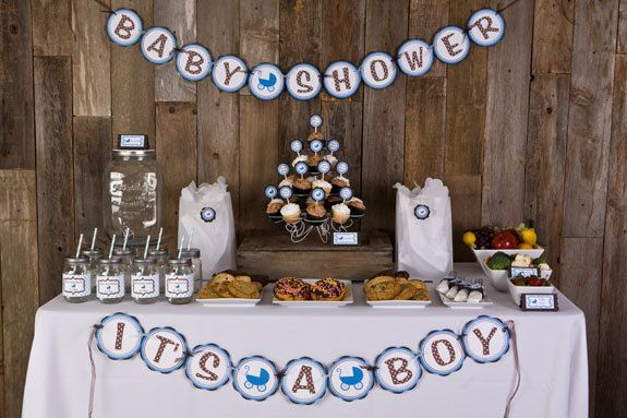 Best Baby Shower Decorations It S A Boy Baby Shower Banner This Month
