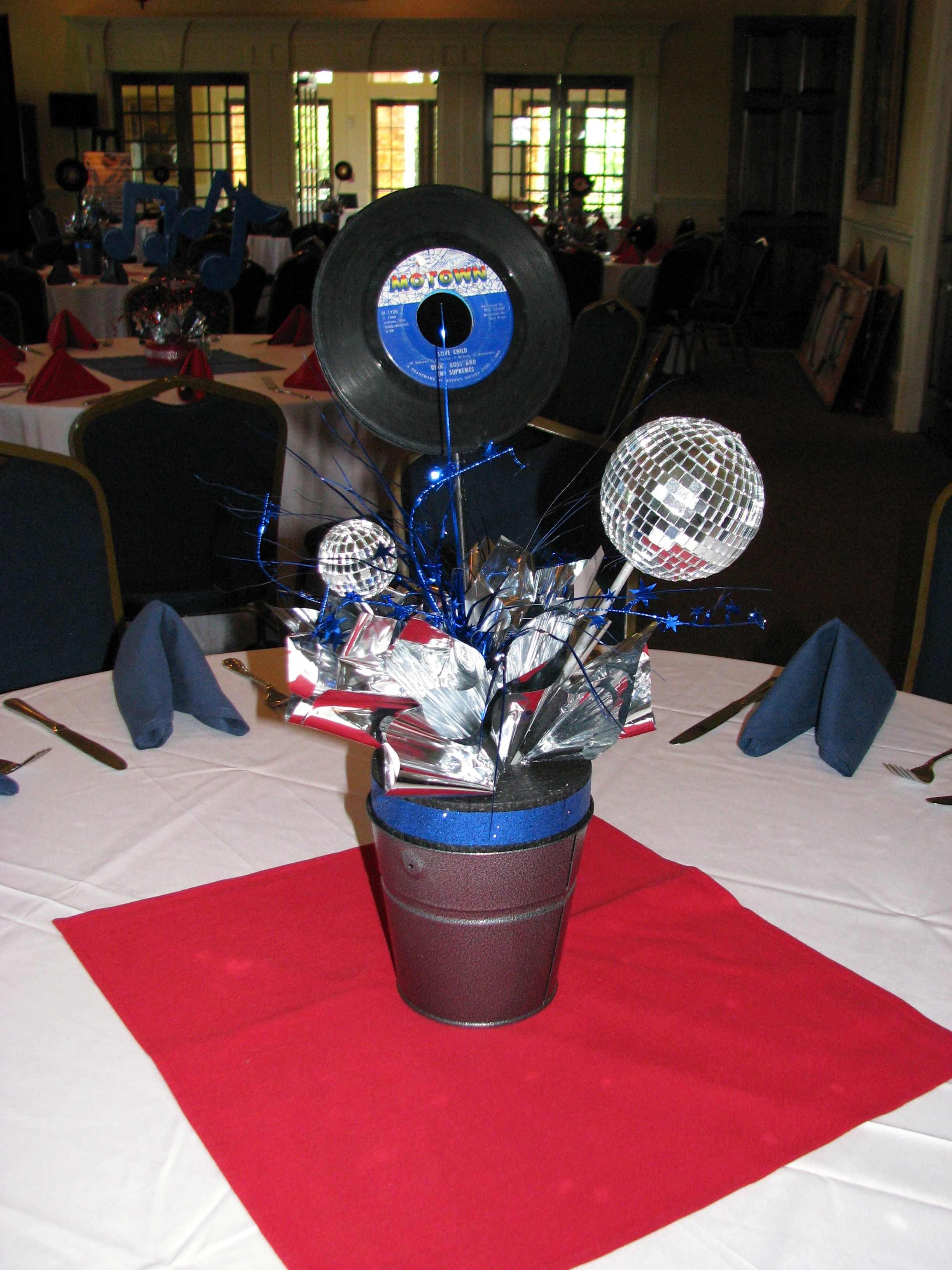 Best Rock N Roll Centerpieces By The Party Girl Events This Month