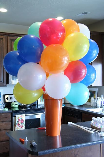 Best Balloon Centerpiece Without Helium Good Ideas Party This Month
