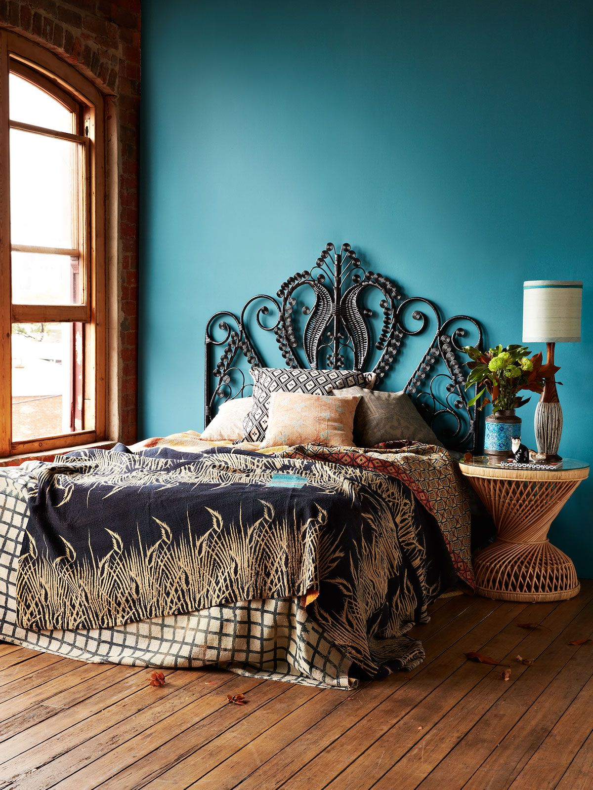 Best Queen Peacock Bed Head Blackthe Block Shop Channel 9 This Month