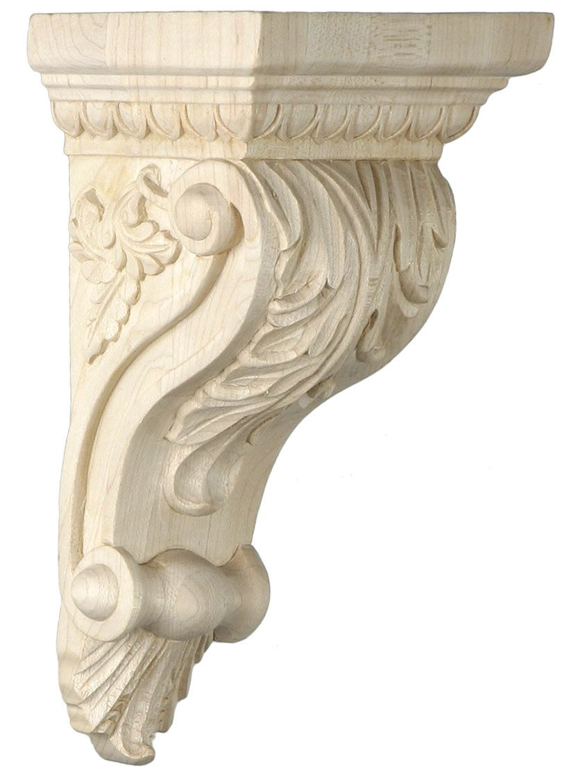 Best Foliage Motif Corbel In Four Sizes With Choice Of Wood In This Month