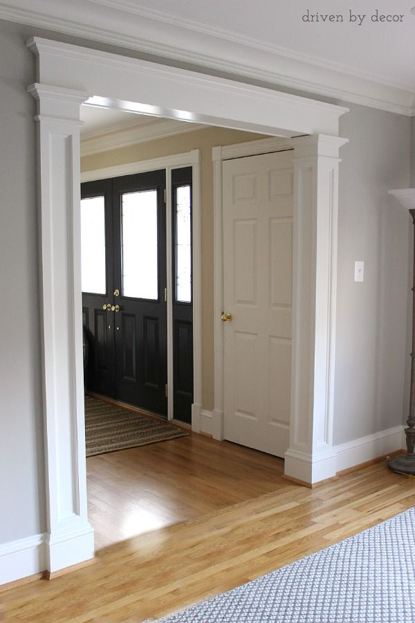 Best Doorway Molding Design Ideas Blogger Home Projects We This Month