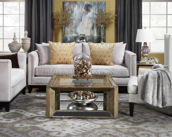 Best Gray And Gold Living Room Pauline Sofa From Z Gallery Living Room Living Room Designs Home This Month