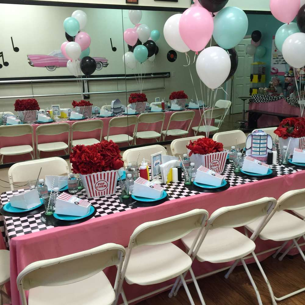 Best 1950 S Sock Hop Birthday Party Ideas 20Th Birthday This Month