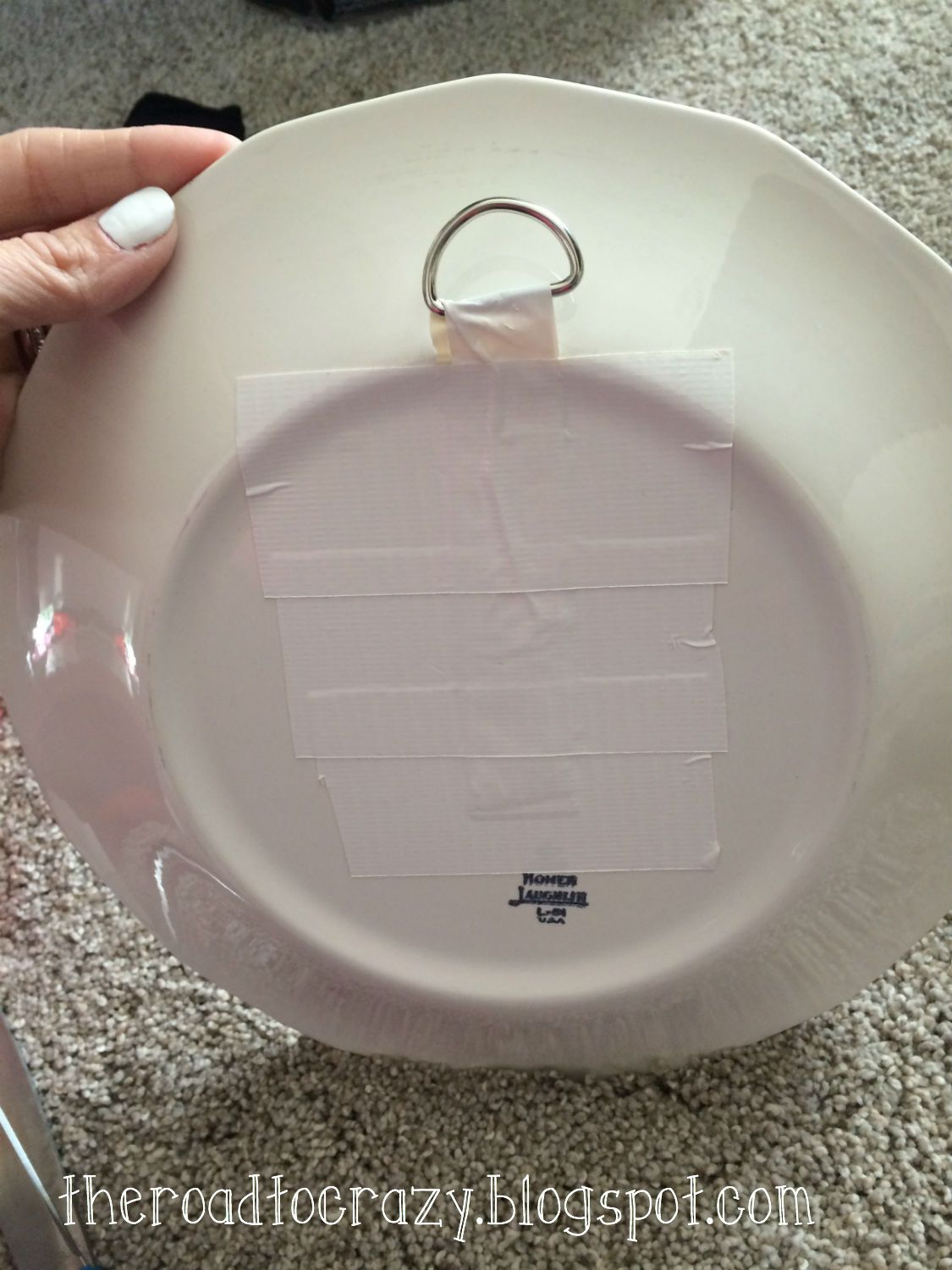 Best The Road To Crazy Diy Plate Hangers … Pinterest Junk This Month