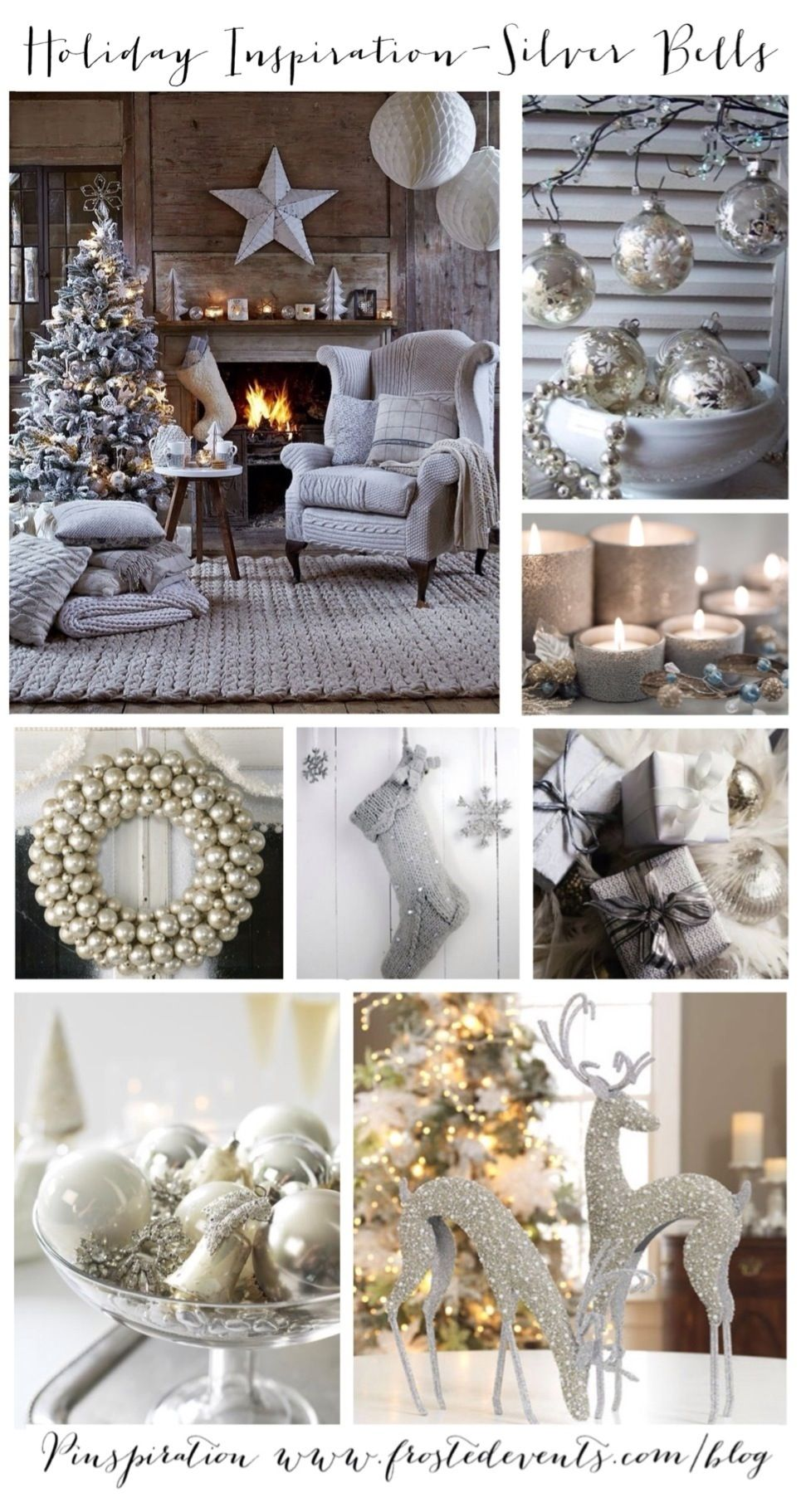 Best Holiday Inspiration Silver Bells Christmas Ideas And This Month