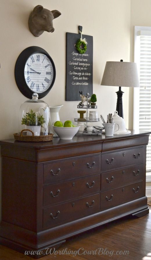 Best Adding Farmhouse Style To The Kitchen And Dressers Aren T This Month
