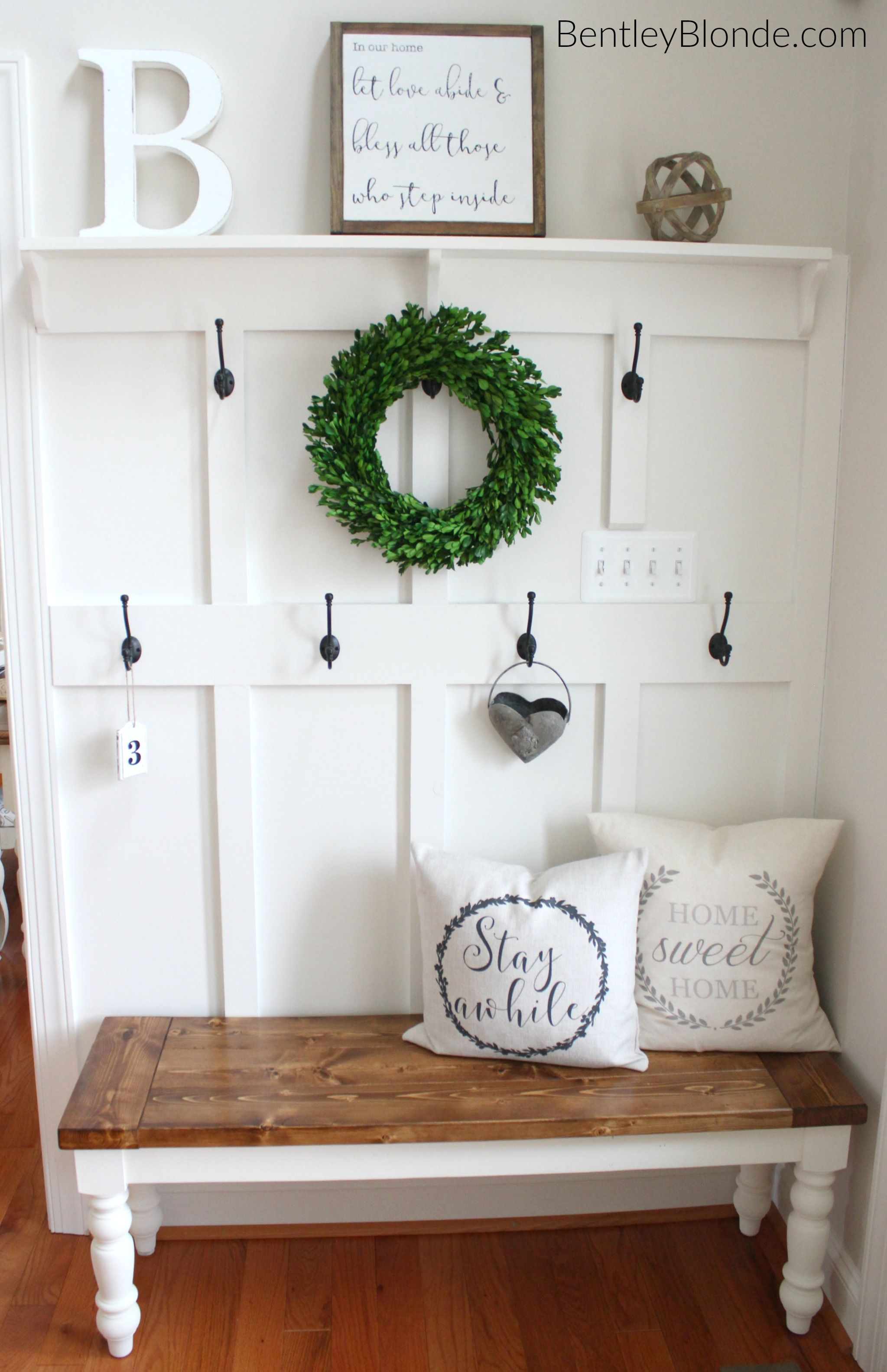 Best Diy Farmhouse Bench Tutorial Farmhouse Style Rustic This Month