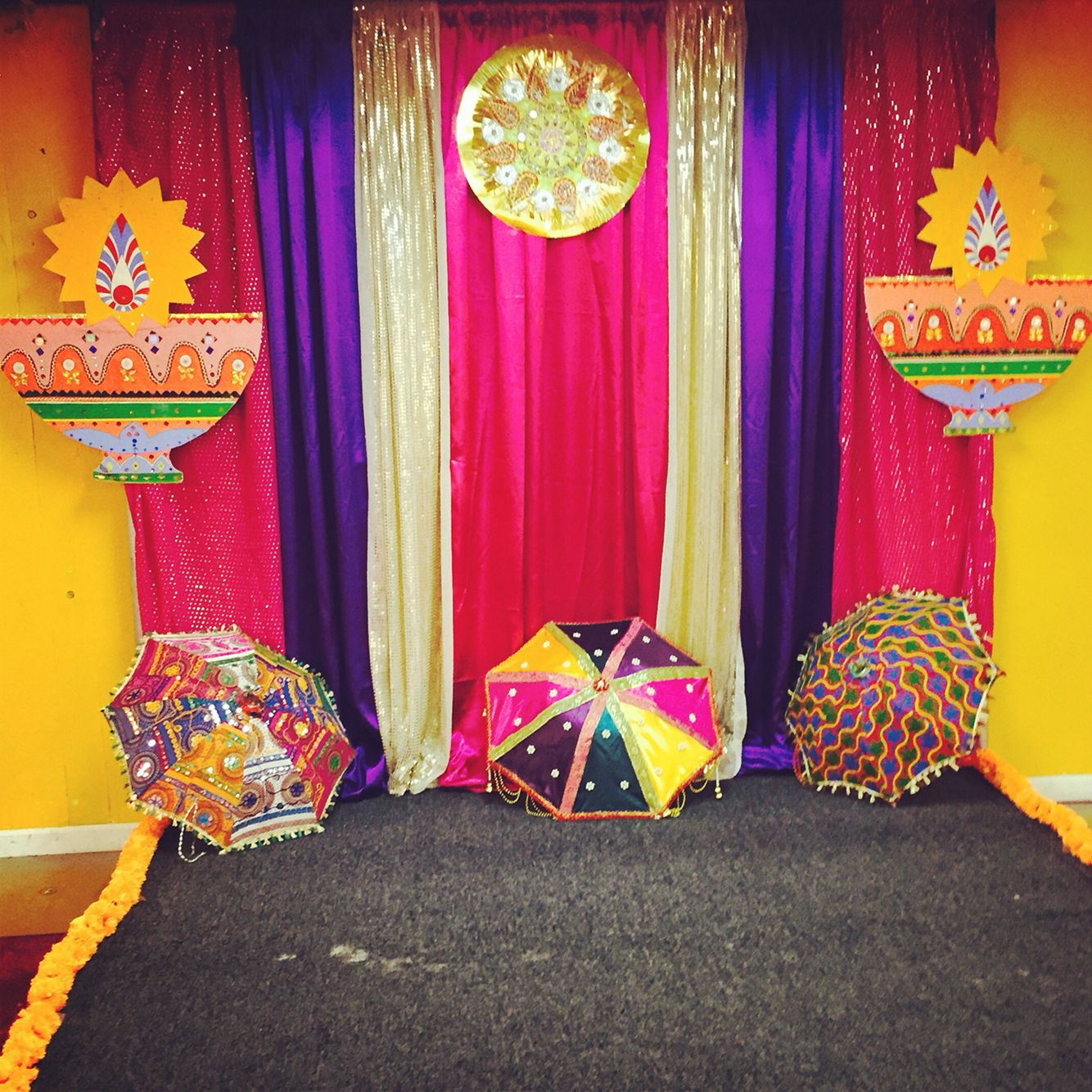 Best Bollywood Diwali Party Photo Booth Backdrop Wedding This Month