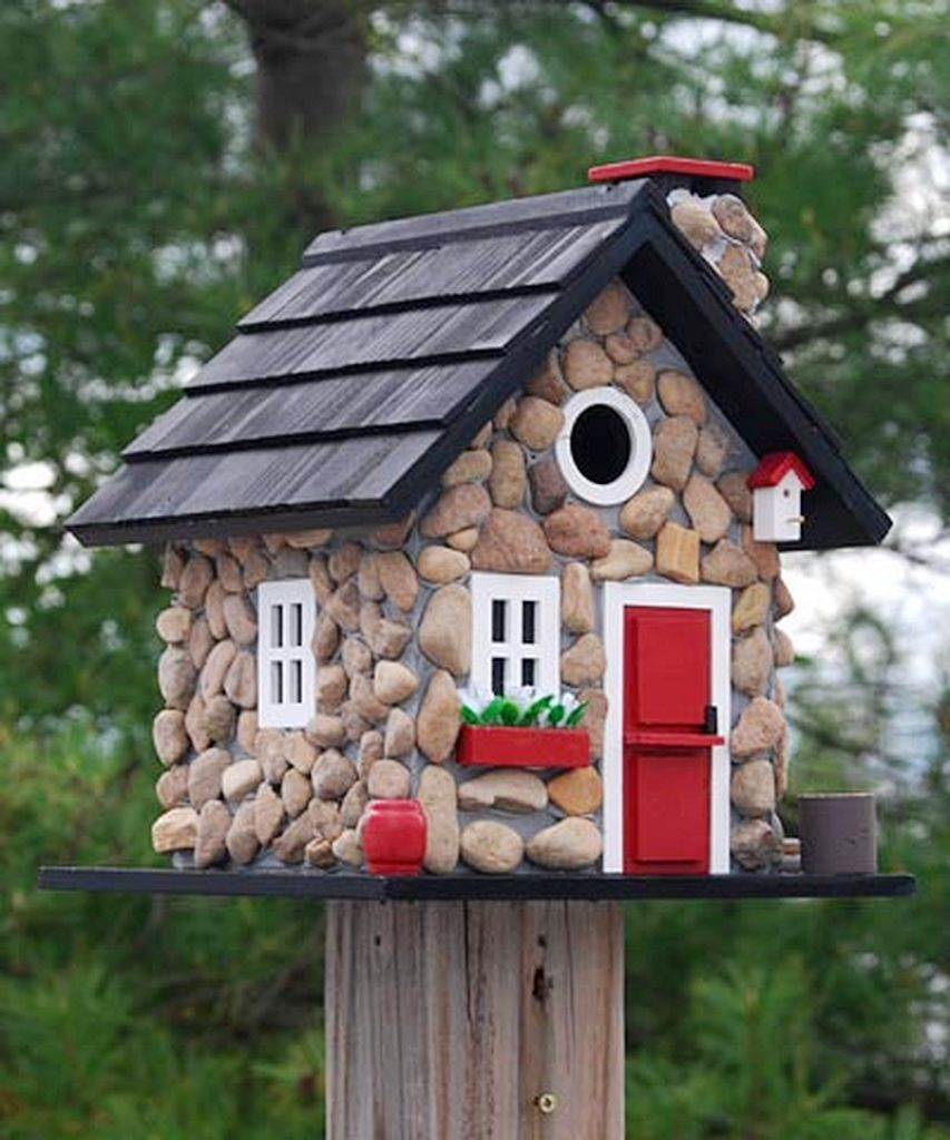 Best 30 Creative Bird House Ideas For Beautiful Yard Outdoor This Month