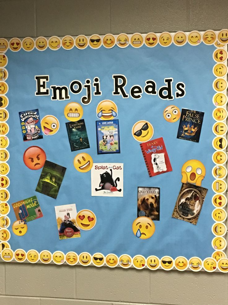 Best Emoji Reading Bulletin Board Iteach Third Reading This Month