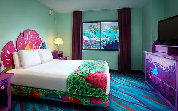 Best One Of The Little Mermaid Rooms Courtesy Of Walt Disney This Month