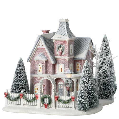 Best Dept 56 Nicollet House Winters Frost In The Spirit Of This Month
