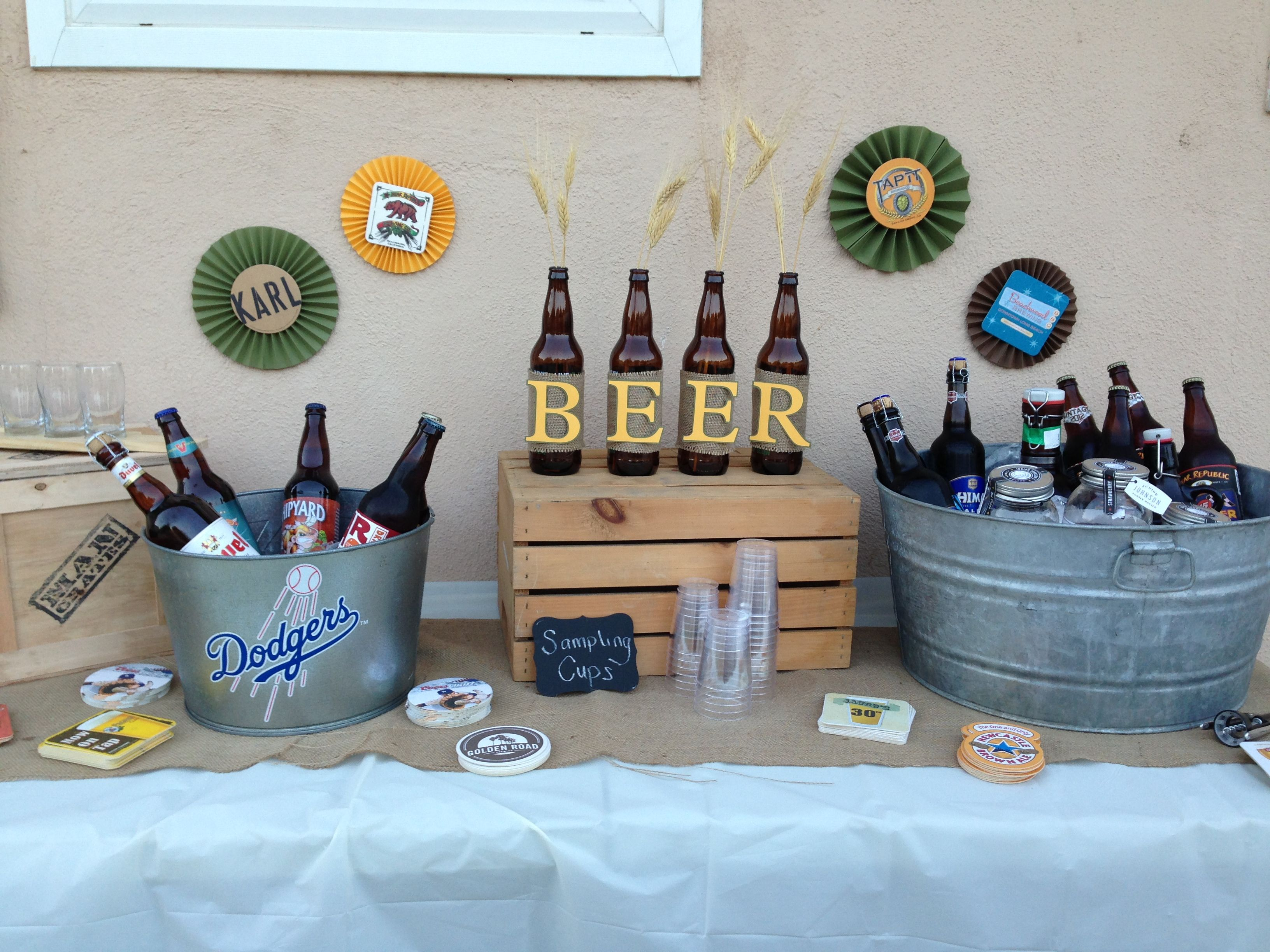 Best Beer Party Decorations Link Goes Nowhere Beer Party This Month