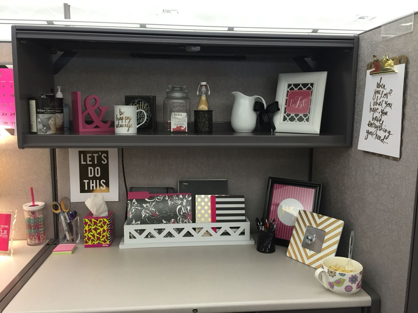 Best Cubical Makeover … Work Office In 2019… This Month