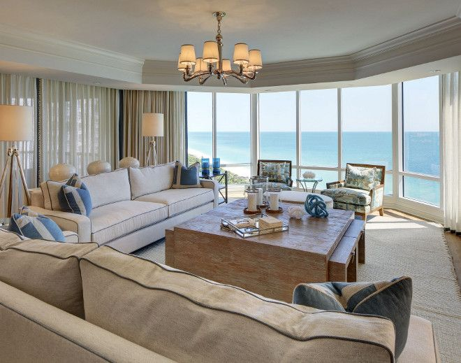 Best Florida Beach Condo Living Room Coastal Living Beach This Month