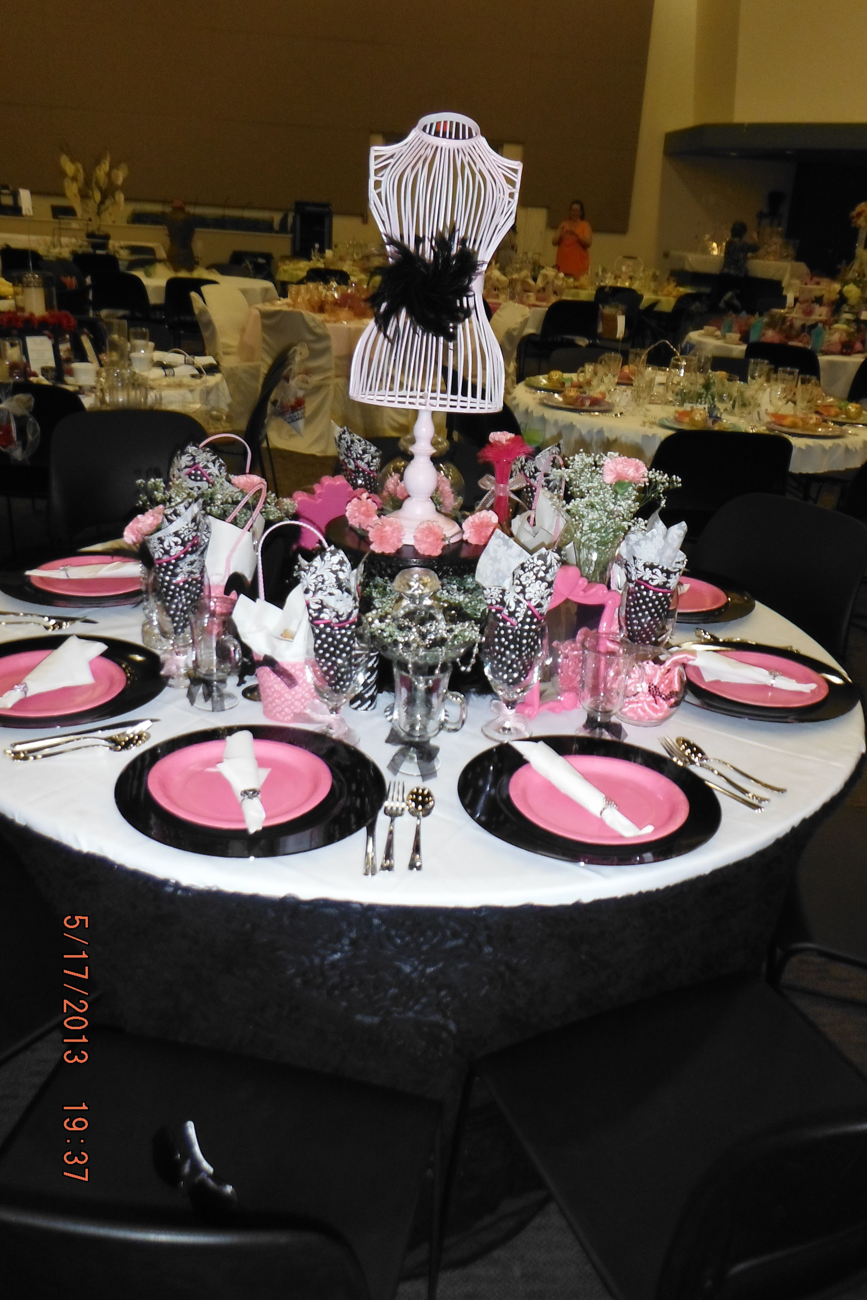 Best Creative Tables For The Ladies Tea At The Grove Church This Month