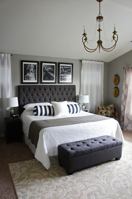 Best How To Decorate A Bedroom Beddings Chic Master Bedroom This Month