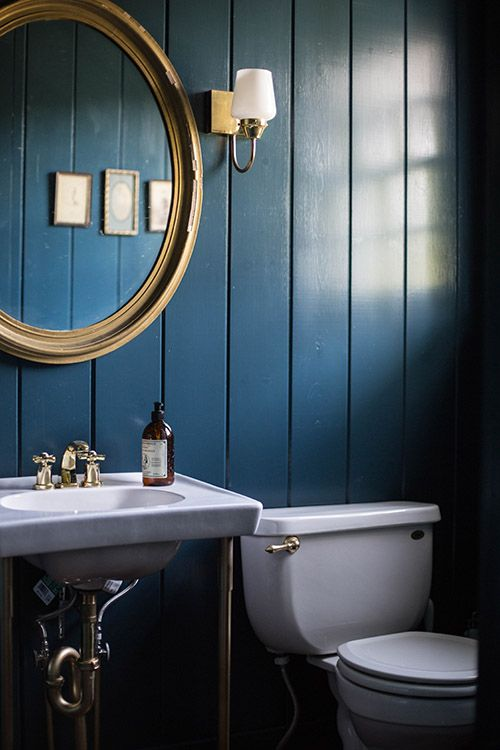 Best Why Dark Walls Work In Small Spaces Clean Bathrooms This Month