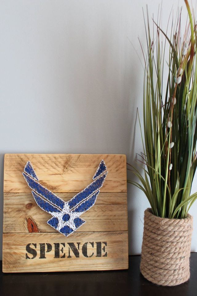 Best Air Force String Art Military Retirement String Art This Month