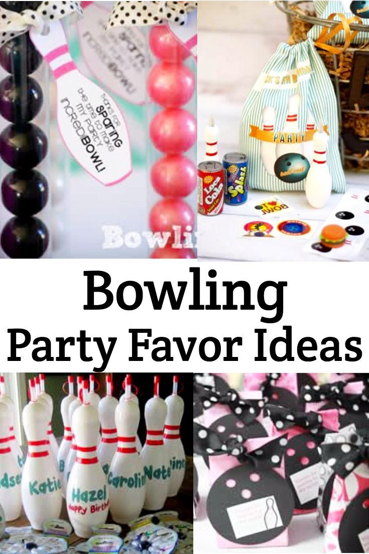 Best Bowling Party Favor Ideas Birthdays Bowling Party This Month