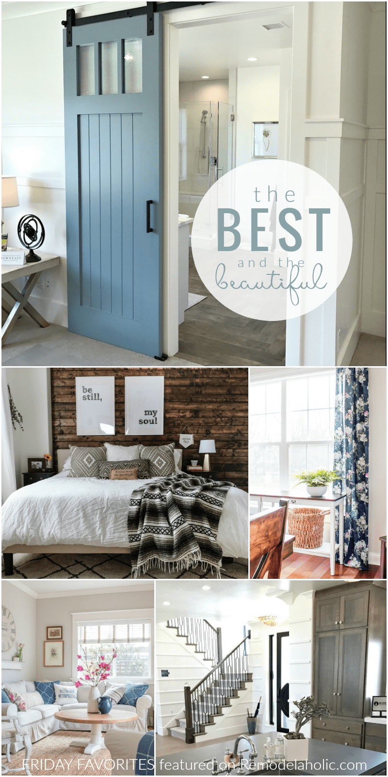 Best Remodelaholic Friday Favorites Spring Decor No Sew This Month