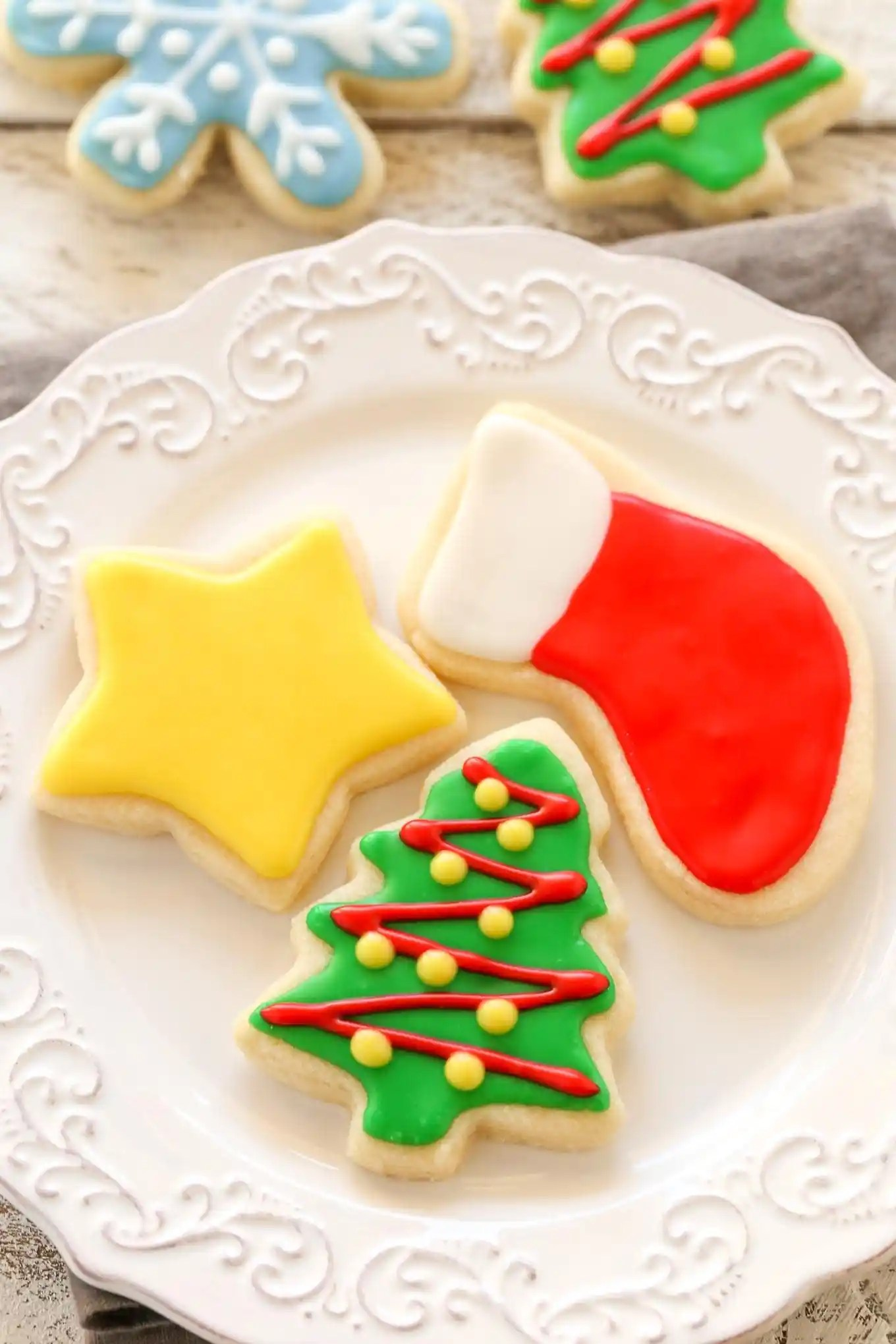 Best Soft Christmas Cut Out Sugar Cookies Live Well Bake Often This Month