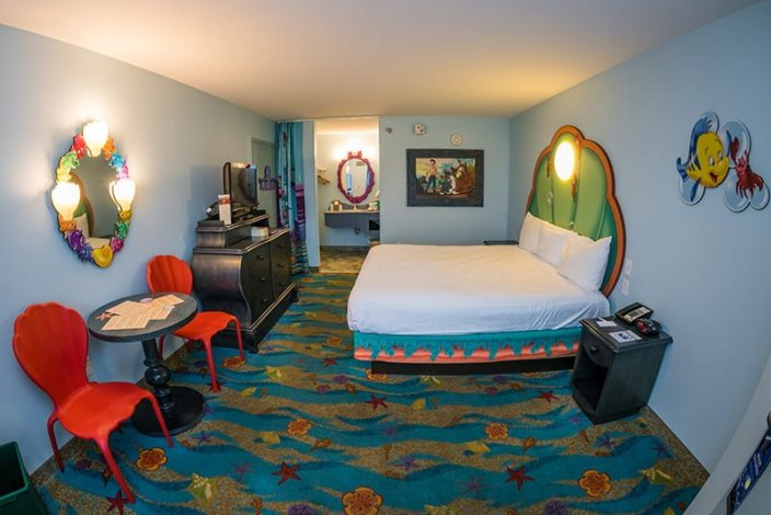 Best Little Mermaid Room Review Disney Tourist Blog This Month