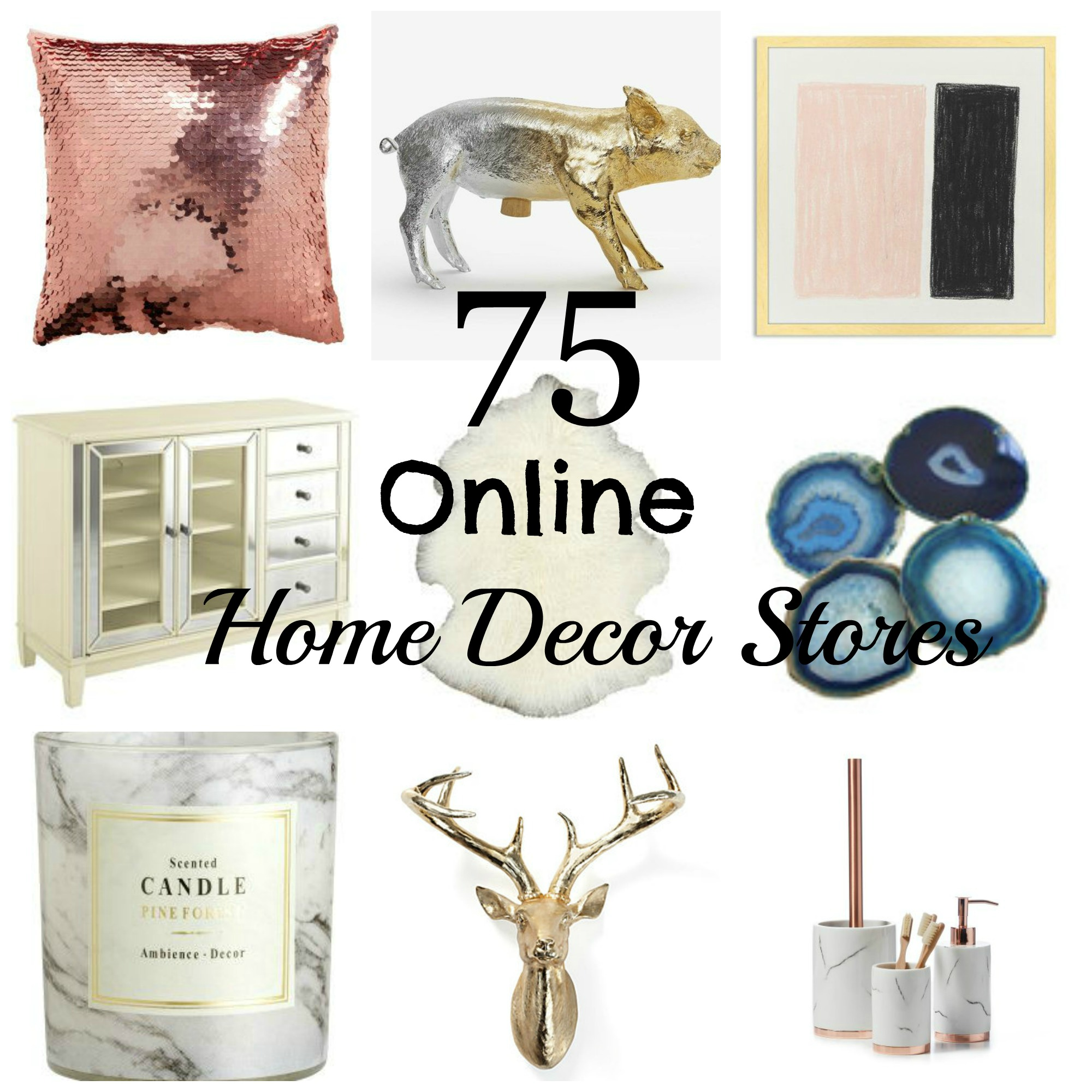 Best 75 Online Home Decor Stores Jenn And Tonic This Month