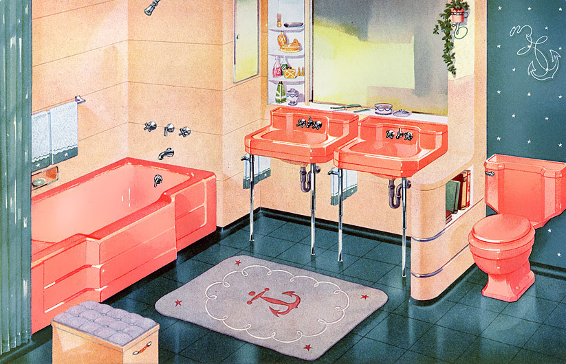 Best 1950S Bathroom Decor Matthew S Island Of Misfit Toys This Month