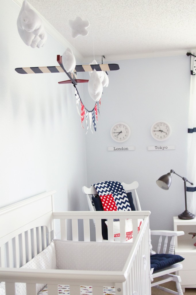 Best Denton S Vintage Airplane Travel Nursery Project Nursery This Month