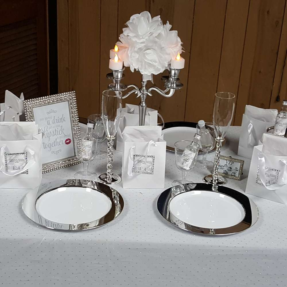 Best All White Party Birthday Party Ideas Photo 1 Of 9 This Month
