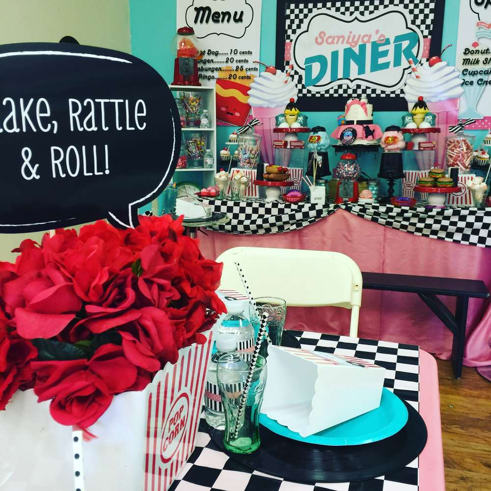Best 1950 S Sock Hop Birthday Party Ideas Photo 1 Of 20 This Month