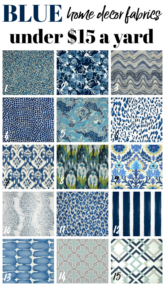 Best Cheap Home Decor Fabric By The Yard This Month